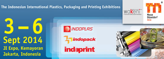 3-6 Sept 2014 The Indonesian International Plastics, Packaging And Printing Exhibitions